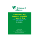 Guidance on FSC group certification for forest management